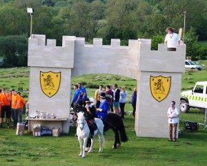 The Opening Ceremony , with Robert Dover and Endymion Porter at Dover's Castle