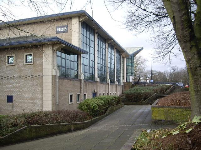 The BBC's Southampton studio