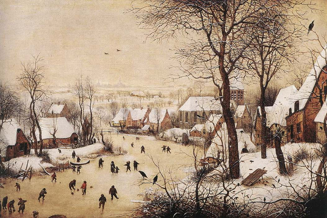 Pieter_Bruegel_the_Elder_-_Winter_Landscape_with_Skaters_and_Bird_Trap_-_WGA03333