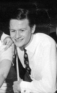 Alex Higgins in 1968, at the start of his career