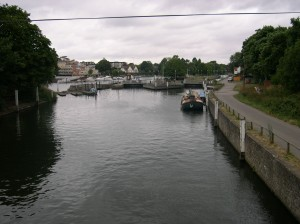 The River Thames at Teddington Lock