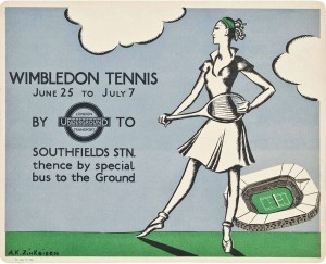 Perry created posters fr London Transport until 1937