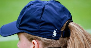 Ralph Lauren branded uniform for ball girls and boys