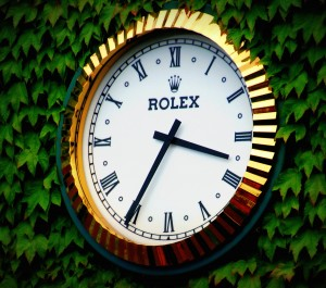 Rolex timekeeping at Wimbledon