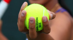 Sony promoted their range of 4K televisions during Wimbledon using a player's nails