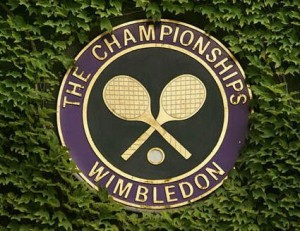 The Wimbledon logo, 2014