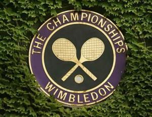 The Wimbledon logo, 2014